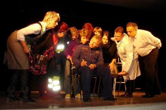 les copains du café théâtre de Sarry !!! Tournée 2010 : Sermaize-les-bains
